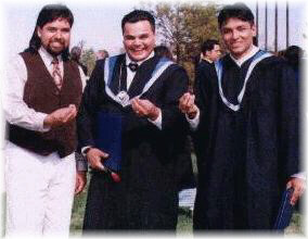 John, Rick and Greg - Lakehead University: Grad '97