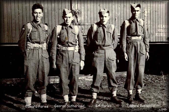 Cree Soldiers of WWII